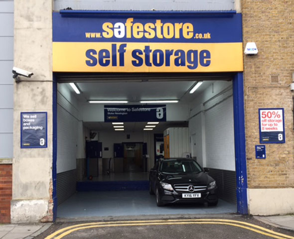 Stoke Newington Safestore store - external