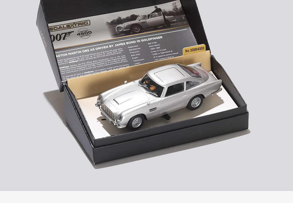 Aston Martin DB5 Scalextric Car